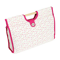 Knitting Storage Bag - Polka