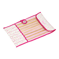 Knitting Needle Roll - Polka