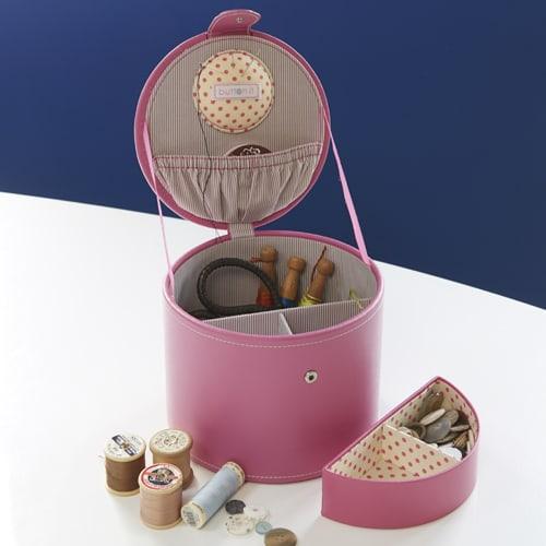 Sewing Storage Box - Pink