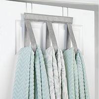 Over Door Towel Hanger - Grey