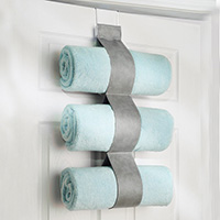 Over Door Vertical Towel Holder