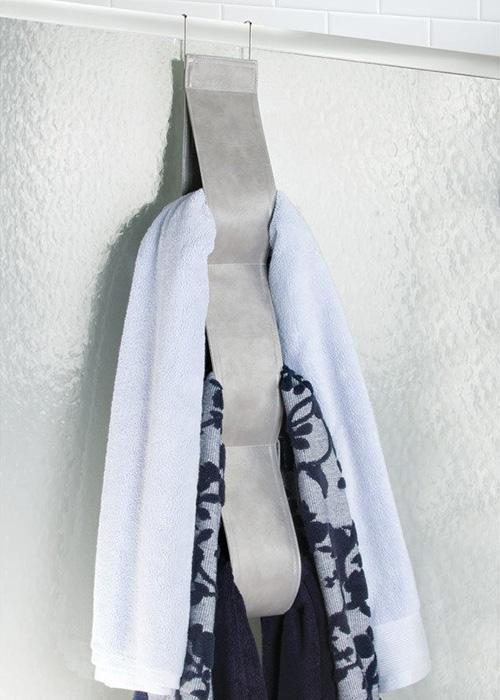 shower over door towel rail