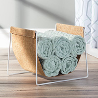 Cork Towel Holder