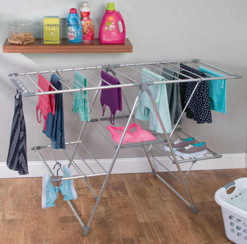 large lightweight clothes airer