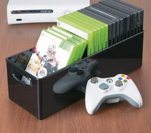 games console controller storage box