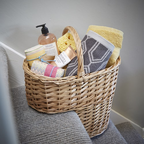 willow step basket