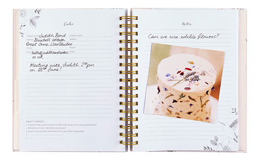 Wedding planner organiser book