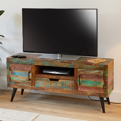 Widescreen TV Cabinet - Coastal Chic