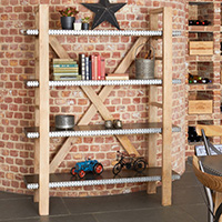 Large Open Bookcase - Kuba