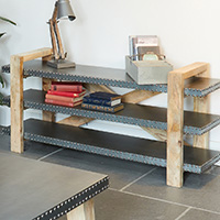 Low Shelving Unit - Kuba