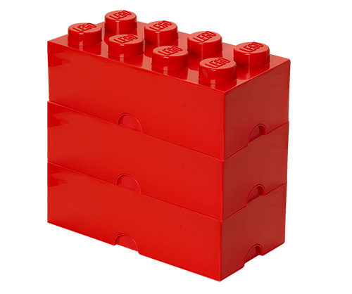 Giant LEGO Storage Blocks - Red Bundle