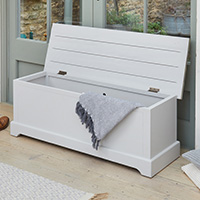 Grey Wood Hallway Storage Bench - Signature Grey
