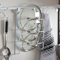 Hanging Pan Lid Organiser