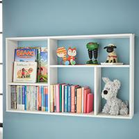 Kids Slimline Bookshelf - Meike