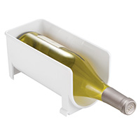 Fridge Binz - Stacking Wine / Bottle Rack - White