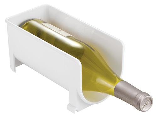 Fridge Binz - Wine / bottle rack in white