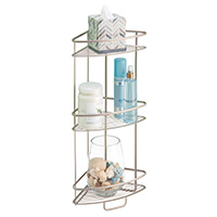 Freestanding Corner Bathroom Shelf- Axis