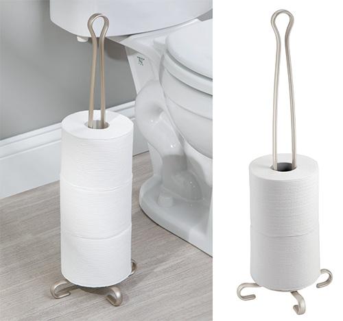 Free standing spare loo roll holder - Axis