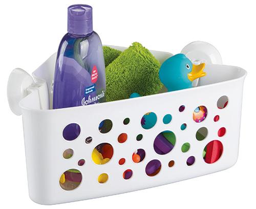 bathtime toy storage caddy