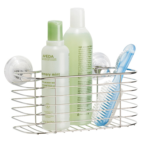 Power lock suction shower caddy - Lineo