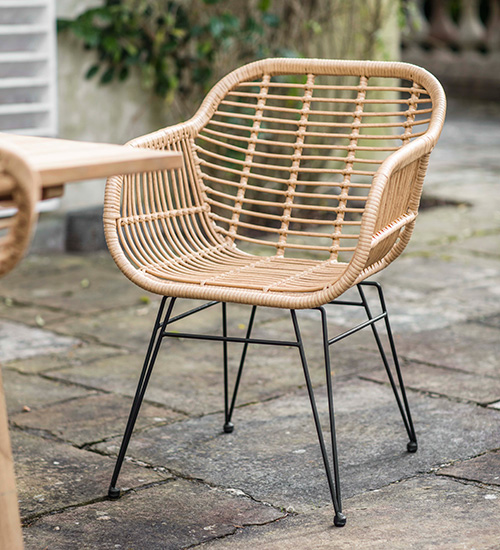 Set of 2 Hampstead Garden Chairs