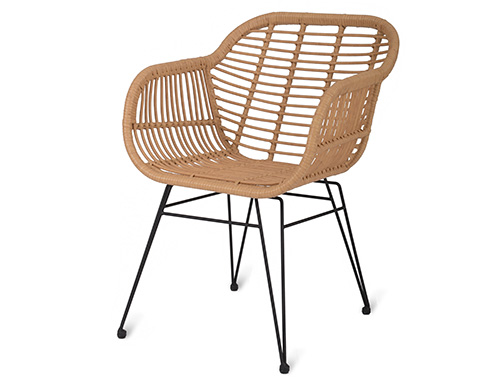 Set of 2 all weather garden chairs - Hampstead