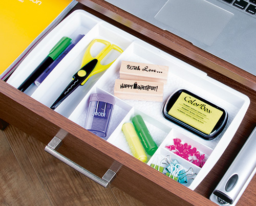 Expandable drawer organiser - Rain