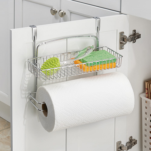 Store Over Cabinet Kitchen Roll Holder