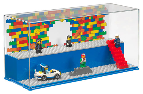 LEGO Play & Display Case