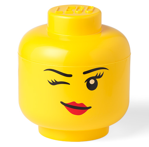 Giant LEGO Winky Storage Head - Large
