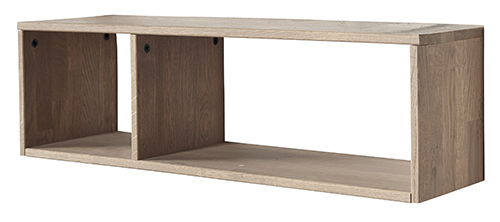 Oak Gyan Open Cabinet