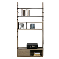 Oak Gyan Storage Single Unit - 3