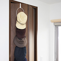 Hanging Hat & Cap Rack