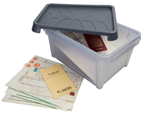 Waterproof Document Storage Box -12 Ltr