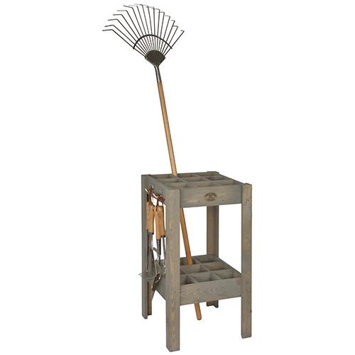 Wooden Garden Tool Storage Stand
