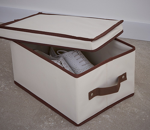 Canvas Storage Box With Handles