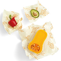 3 x Bee's Wrap Honeycomb Reusable Sandwich Wraps