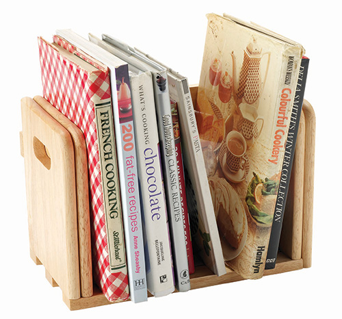 Expanding Bamboo Book Holder