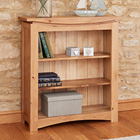 Small Oak Bookcase - Roscoe