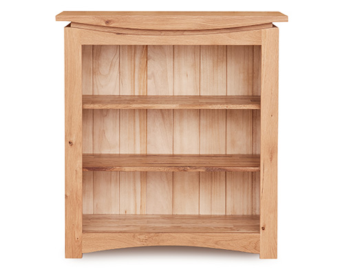 Solid oak small bookcase - Roscoe