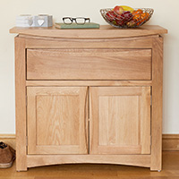 Small Oak Sideboard - Roscoe