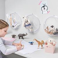 2 x Toy Storage Globes