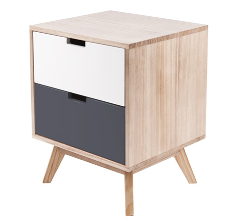 2 Drawer Cabinet - Snap
