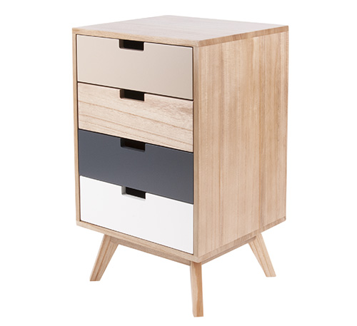4 Drawer Cabinet - Snap