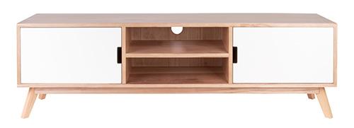 Wooden contemporary tv / media storage unit