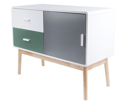 Contemporary wooden sideboard - Neat