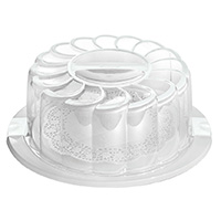 Crystal-Clear Cake Tin