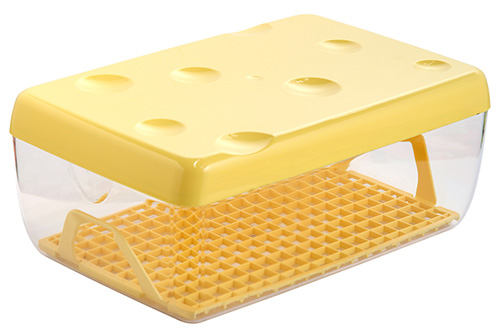 3 litre plastic cheese storage container