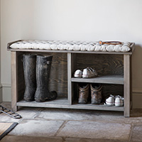 Welly Storage Bench - Aldsworth