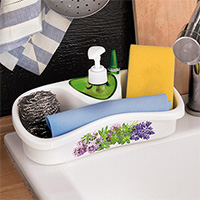 Sink-side Organiser and Ring Holder